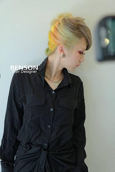 流行髮型女藝人髮色馬卡龍甜美色彩