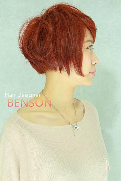 流行短髮頭型美麗