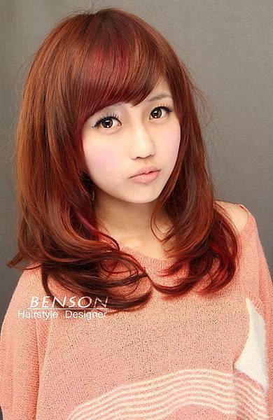 楊丞琳最愛髮色~秋冬經典不敗的質感~焦糖栗棕色