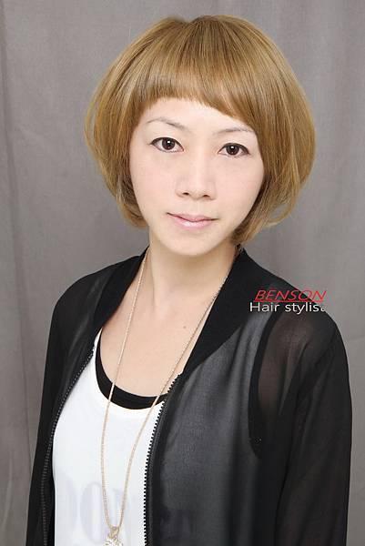短髮髮型亞麻奶綠台北西門町東區流行髮型流行髮色