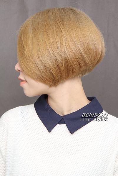 高明度髮色強佔強化完美輪廓