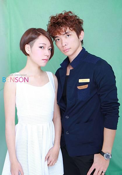 BENSON&郭雪芙流行髮型.JPG