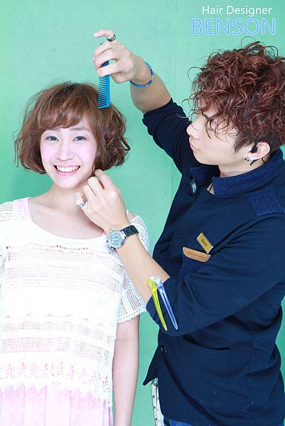 BENSON巧手打造幸福髮型.JPG