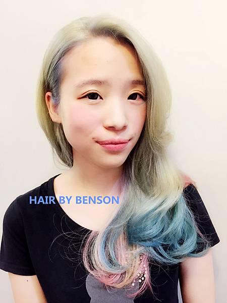 馬卡龍染髮