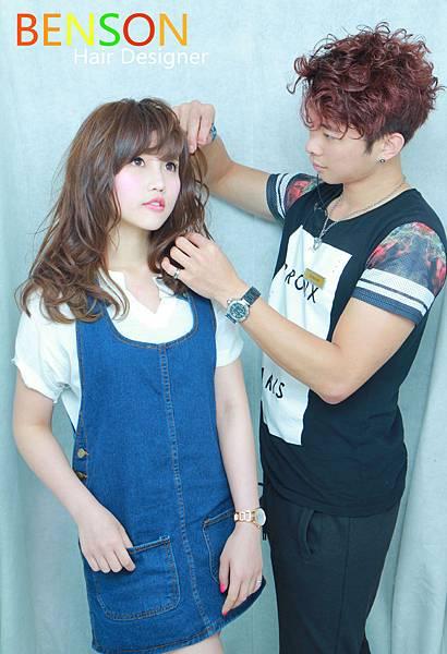 2015~2016溫碩燙流行髮型