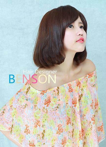 小女人LOB甜美髮型 (2)