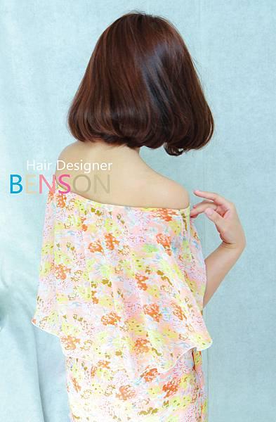 小女人LONG BOB甜美髮型 (2)