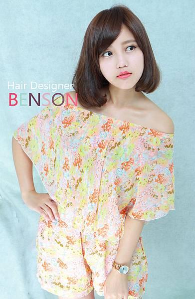 小女人LONG BOB甜美髮型 (3)
