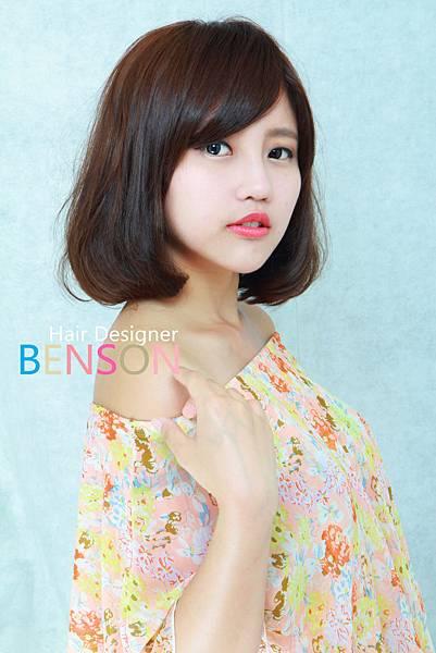 高質感LONG BOB甜美髮型 (2)