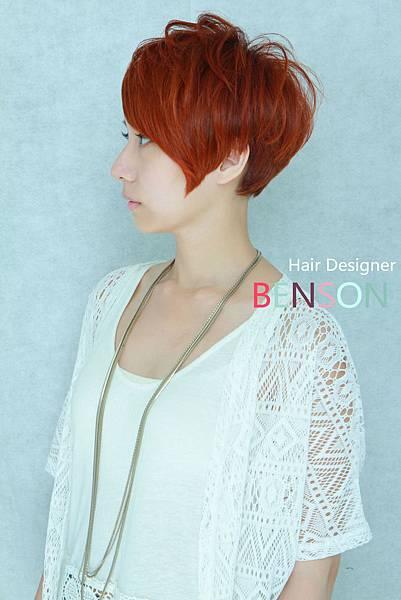 個性女短髮流行髮型