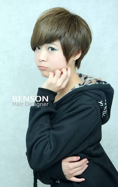 可愛短髮流行髮型.JPG