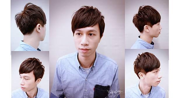 男生流行髮型