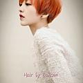 她很漂亮 漂染髮 短髮~西門町尚洋髮型BENSON