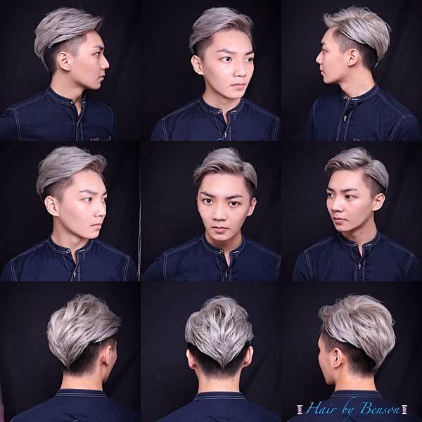 男生髮型 油頭 undercut