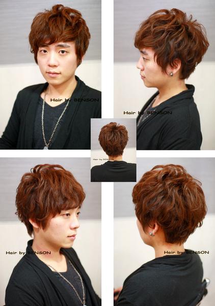 2011年春季型男捲髮新造型