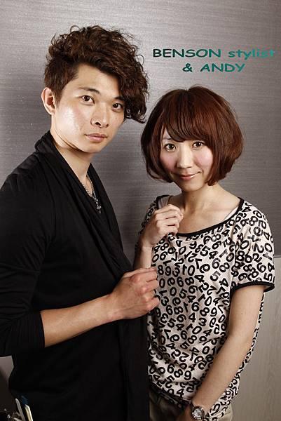 2011夏日流行髮型~空氣動感短髮造型燙染by尚洋Benson