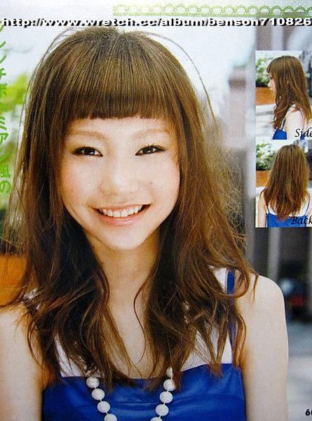 2010年夏天質感出眾亞麻綠髮色@獨創瀏海造型