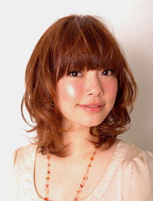 Sweet~日系捲髮型