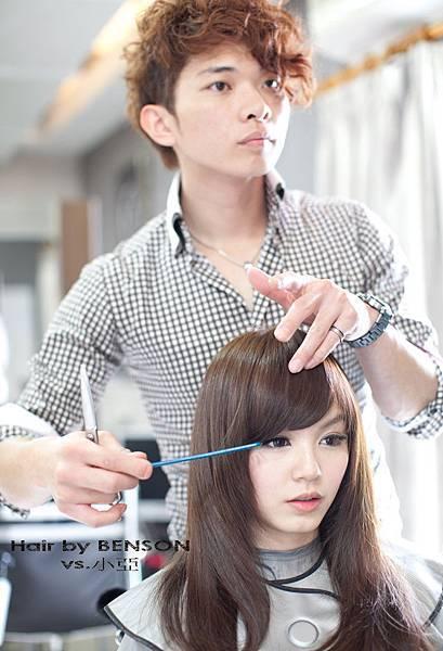 西門町髮型師班森/尚洋髮藝成都店BENSON副理