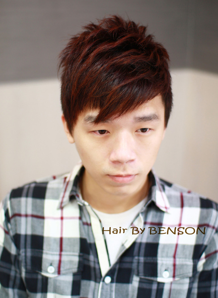 俐落短髮男生剪髮造型設計
