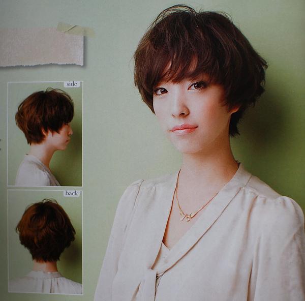 簡單俏麗髮型@日系髮型空氣感燙髮分享