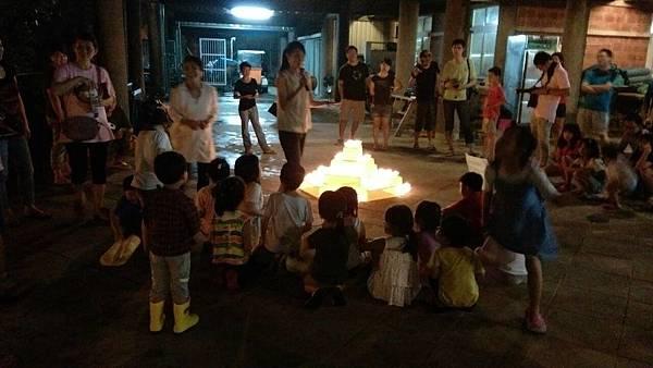 幼稚園營火