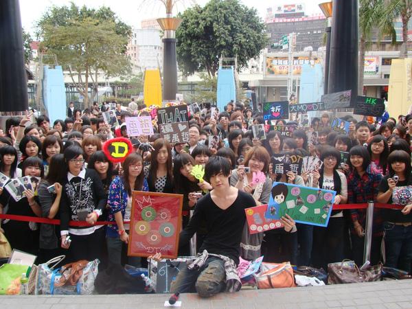 唐禹哲昨與台南歌迷一起歡度情人節。.jpg
