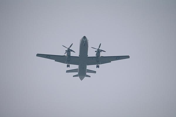 花博上空的飛機.JPG