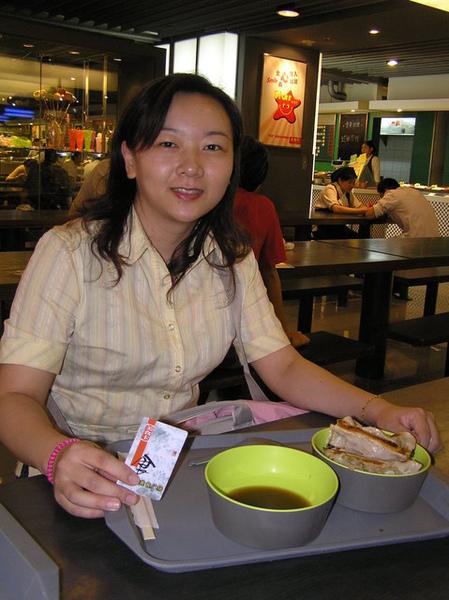 小妮的北京第一餐
