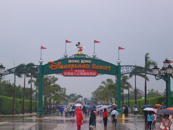 迪士尼大門