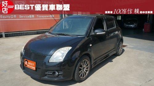 2007年 Suzuki Swift 黑色 鈴木中古車