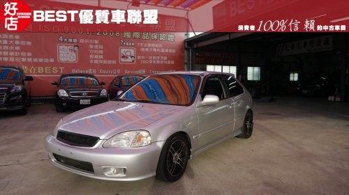 2000年 Honda Civic喜美 銀色 本田中古車.jpg