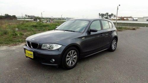2006年 BMW 120i 灰色 寶馬中古車.jpg