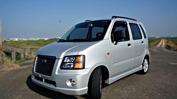 2004年 Suzuki Solio 銀色 鈴木中古車
