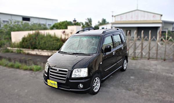 2007年 Suzuki Solio 黑色 鈴木中古車