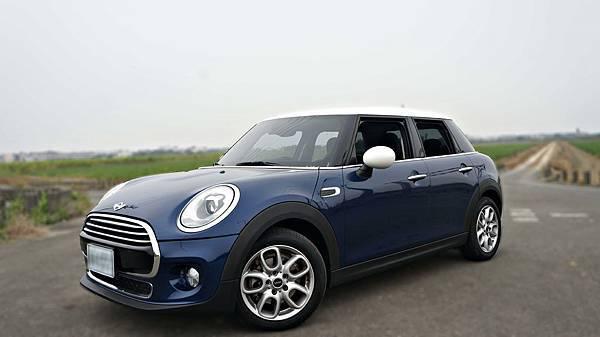 2015年 Mini Cooper 深藍色 迷你中古車