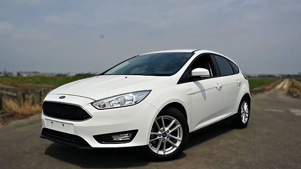 2016年 Ford Focus 白色 福特中古車