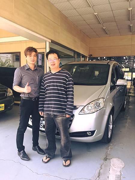 2010年 Luxgen MPV 銀色 納智捷中古車 成交