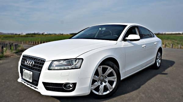 2011年 Audi A5 白色 奧迪中古車