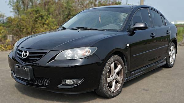 2005年 Mazda 3 黑色 馬自達中古車