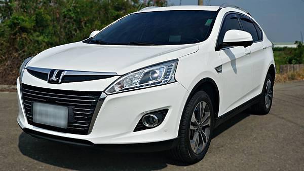 2014年 Luxgen U6 白色 納智捷中古車