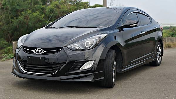 2013年 Hyundai Elantra 黑色 現代中古車