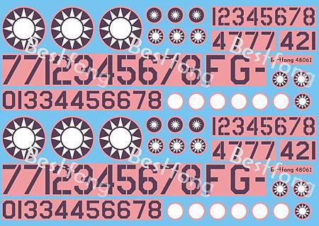 48061F-104Numbers+Emblems
