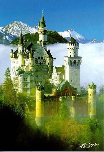 世界美景/德國新天鵝堡