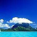世界美景/藍色的海