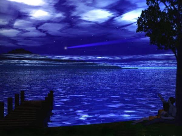 世界美景/漂亮的流星