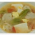 丝瓜豆腐蛋花汤