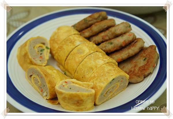 【1馅2味】肉饼 + 肉蛋卷