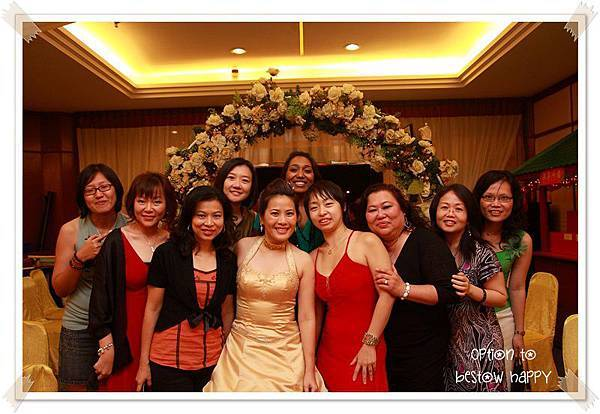 Ai Ling's wedding dinner 17-Jan-2010