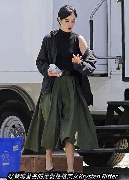 好萊塢著名的黑髮性格美女Krysten Ritter